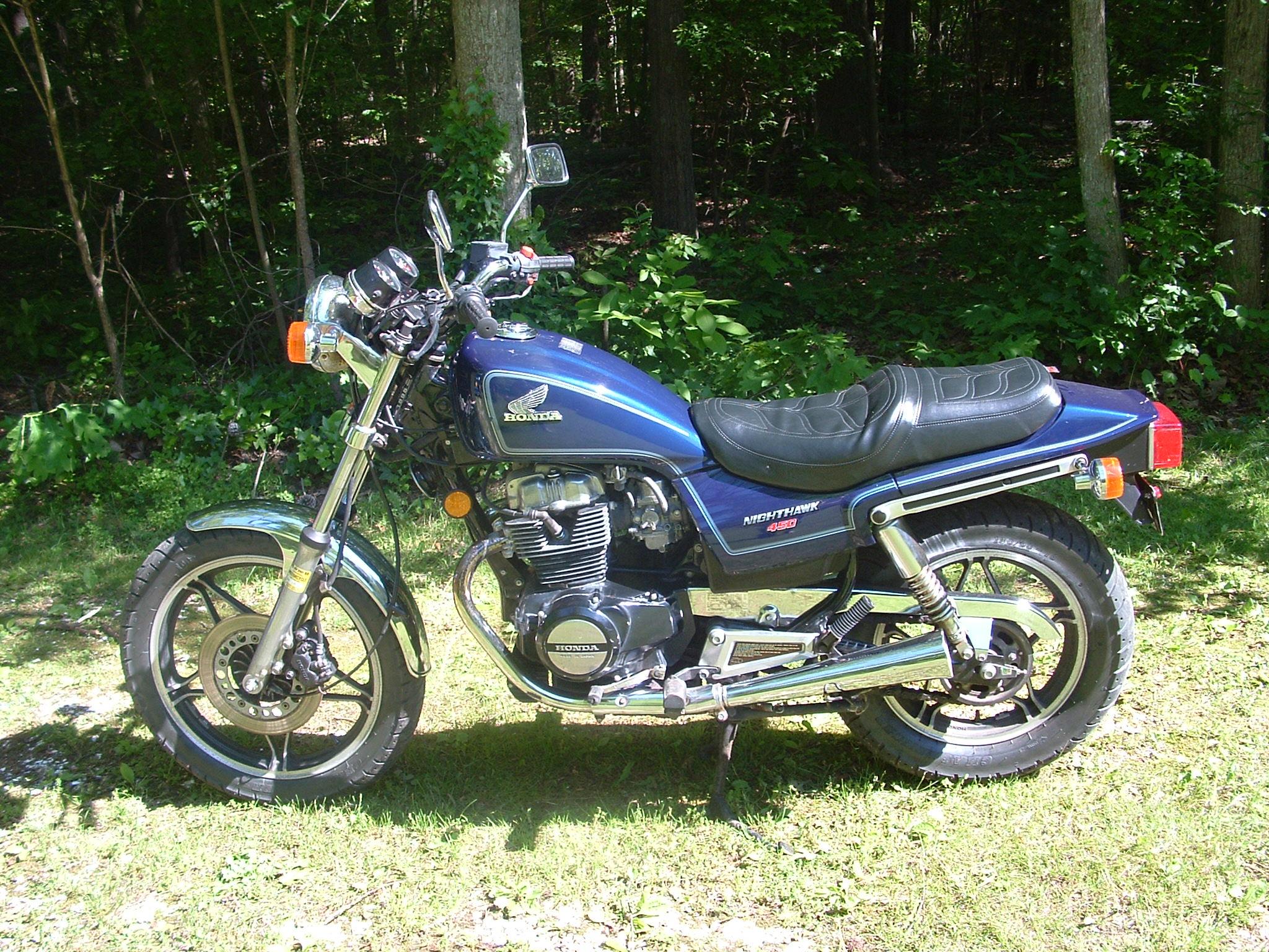 1985 Cm450sc Nighthawk